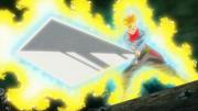 Trunks Wielding Sword