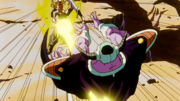Trunks defeats King Cold
