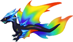 Prism Dragon Adult