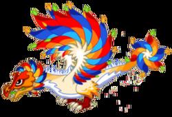 Firework Dragon Adult