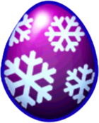 Blizzard Dragon Egg