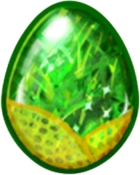 Peridot Dragon Egg
