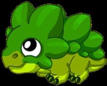 Leaf Dragon Baby