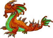 Rust Dragon Adult