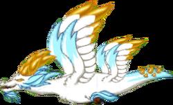 Snowy Gold Dragon Adult