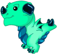 Promethium Dragon Baby