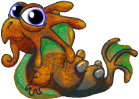 Rust Dragon Baby