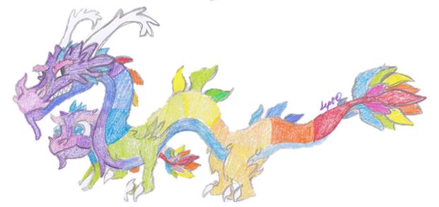 File:Rainbow Dragon Art.png