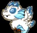 Snowy Silver Dragon