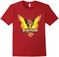 DragonValeT-Shirt-Gaia-Cranberry