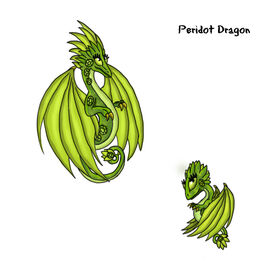 Peridot Dragon