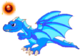 BlueFireDragonAdultOrbOld