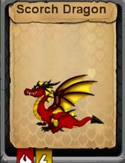Scorch Adult Dragon