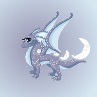 Moon dragon render awesome