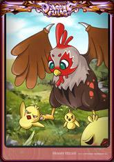 Card chicken