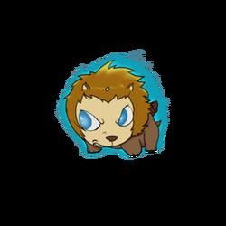 Lion sprite5 at