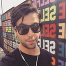 Josh wearing glasses