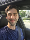 Josh driving