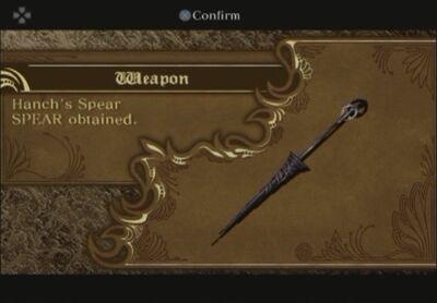 Hanch spear
