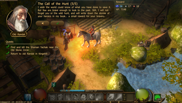 The call of the hunt 5.2