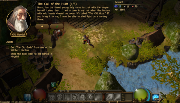The call of the hunt 1.1a
