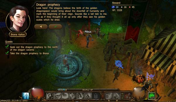 Dragon prophecy a