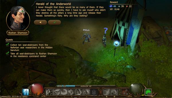 Herald of the anderworld c