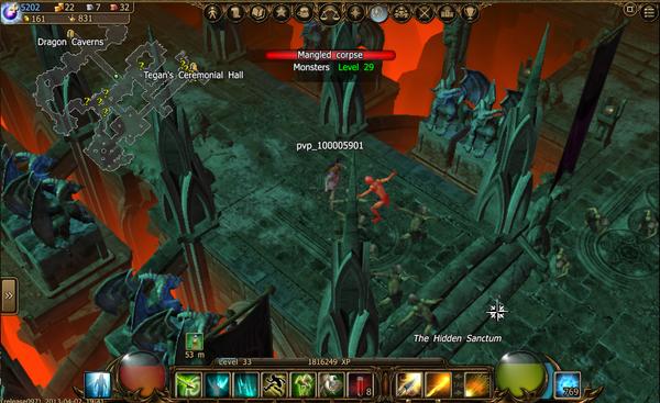 30 undead in the hidden sanctum 1-1