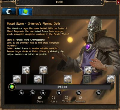 Materi Storm - Grimmag's Flaming Oath