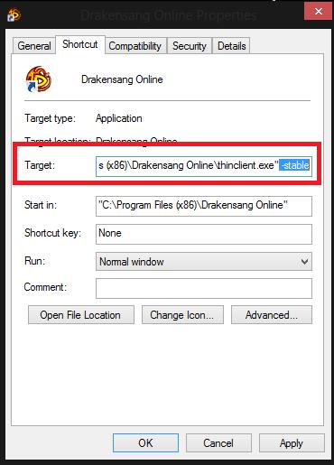 Test server client