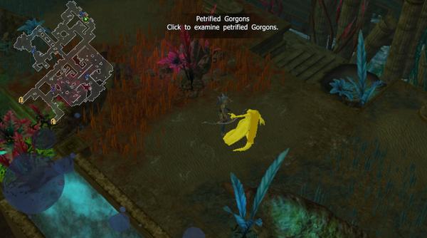 Petrified gorgons