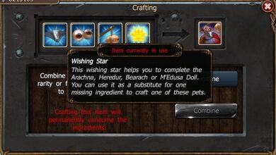 Wishing star craft