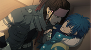 Mink and Aoba arguing