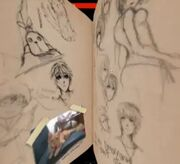 Linda's sketches