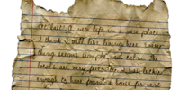 Mystery Journal 1
