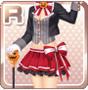 Halloween Hatter Red
