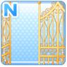 Mansion Gates Gold