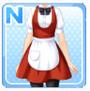 Regular Waitress Red