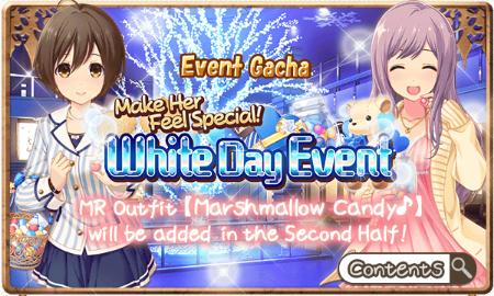 White Day Event Gacha