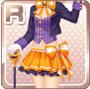 Halloween Hatter Orange