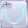 Neon Heart Blue