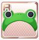 Frog Hat Green
