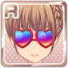 Colorful Heart Sunglasses Red