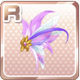 Fairy Wing Hairclip Purple