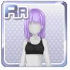 Wet Hair Purple