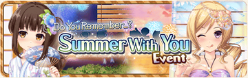 Summer With You Event Banner