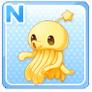Shoulder Squid Yellow