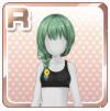 Summer Festival Hair Green