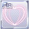 Neon Heart Pink
