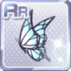 Butterfly Hair Acc White